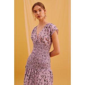 NEW KEEPSAKE Secure Midi Dress in Lilac Floral